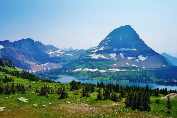 Национальный парк Глейшер в США - Перевал Логан
