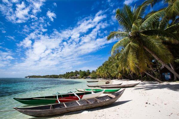 Остров Сент-Мари на Мадагаскаре