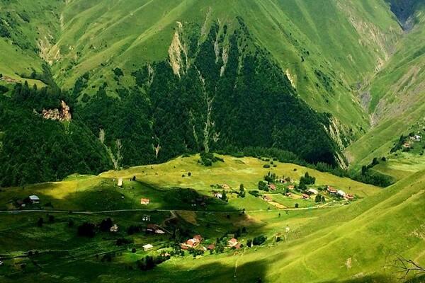 Маршруты походов по Грузии с фото и описанием мест - Ущелье Хада