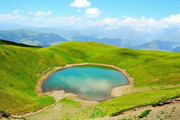 Маршруты походов по Грузии с фото и описанием мест - Озеро Орети
