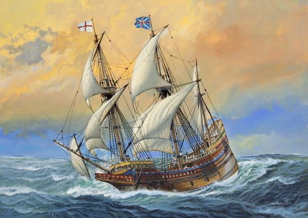 Путешествия парусника «Мэйфлауэр»