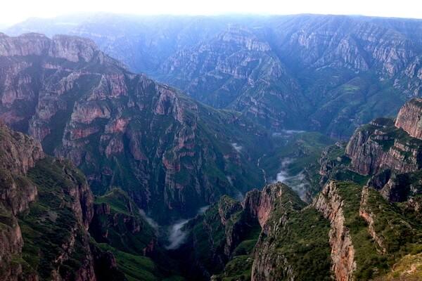 Медный каньон Мексики - особенности достопримечательности