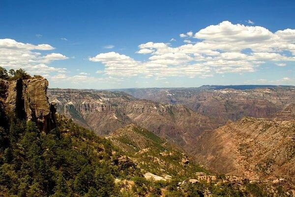 Достопримечательности Медного каньона Мексики