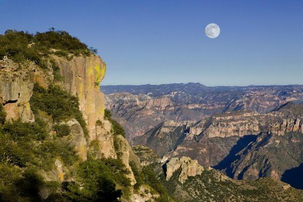 Медный каньон Барранка-дель-Кобре в Мексике - красивые фото