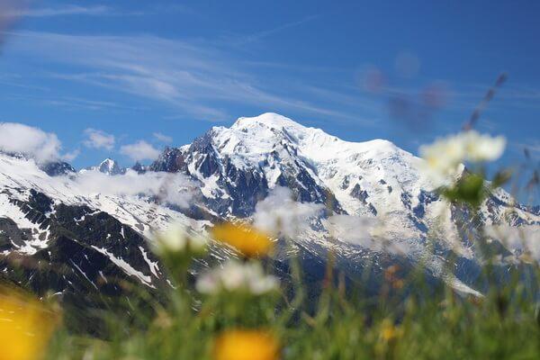 Гора Монблан - фото