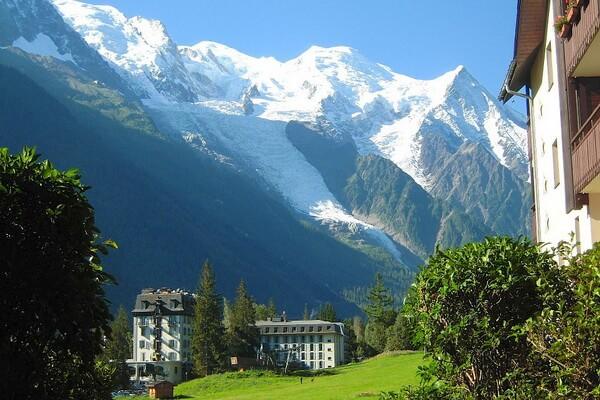 Популярные курорты вблизи горы Монблан