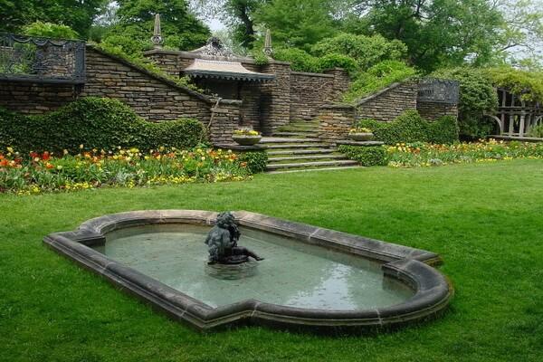 Самые красивые сады мира с фото и описанием - Сады Думбартон-Окс, США