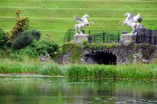 Красивые сады мира - Сады Пауэрскорт, Ирландия
