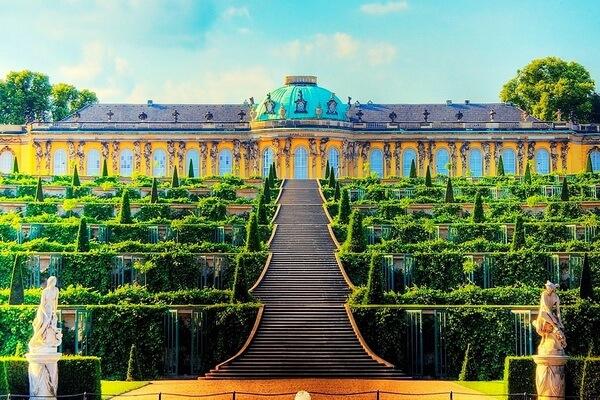 Самые красивые сады мира с фото и описанием - Сады Сан-Суси, Германия