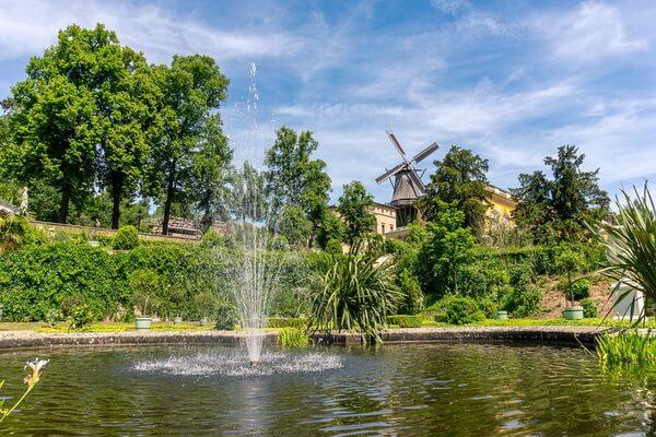 Сады Сан-Суси, Германия - красивые фото