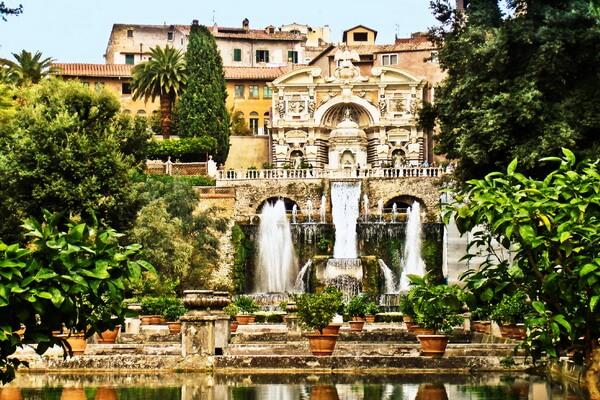 Самые красивые сады мира с фото и описанием - Сады виллы д'Эсте в Тиволи