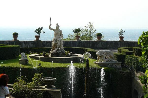 Сады виллы д'Эсте в Тиволи – красивые фото