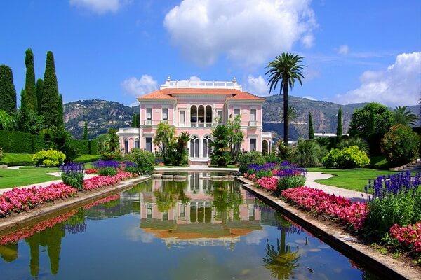 Самые красивые сады мира - Сады виллы Эфрусси-де-Ротшильд, Франция