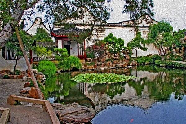 Самые красивые сады мира с фото и описанием - Сады Ваншиюань или Сад мастера сетей в Суджоу, Китай