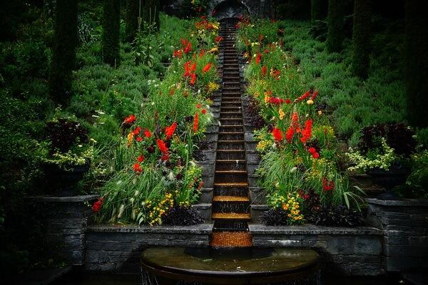 Красивейшие сады Европы - Сад острова Майнау в Германии