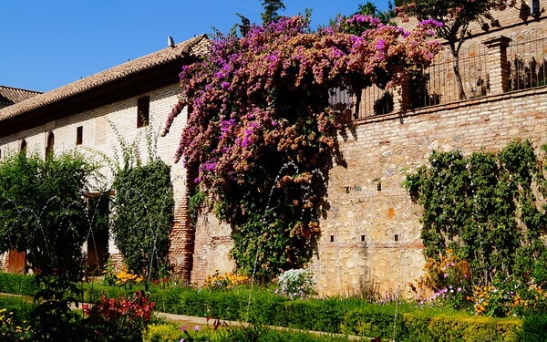 Самые красивые сады и парки Европы - Сады Хенералифе в Испании