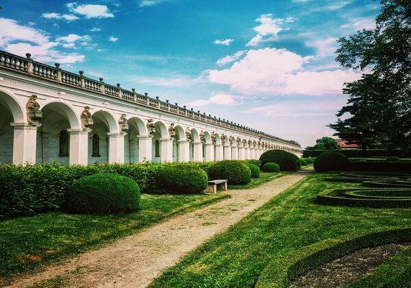 Красивейшие сады Европы - Сад замка Кромержиж в Чехии