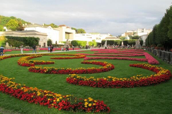 Самые красивые сады и парки Европы - Мирабель, Австрия