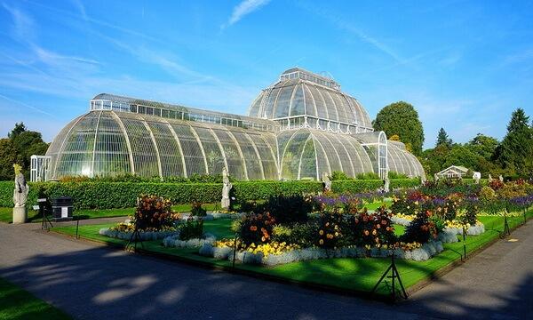 Красивые сады и парки Европы - Королевские ботанические сады Кью в Англии