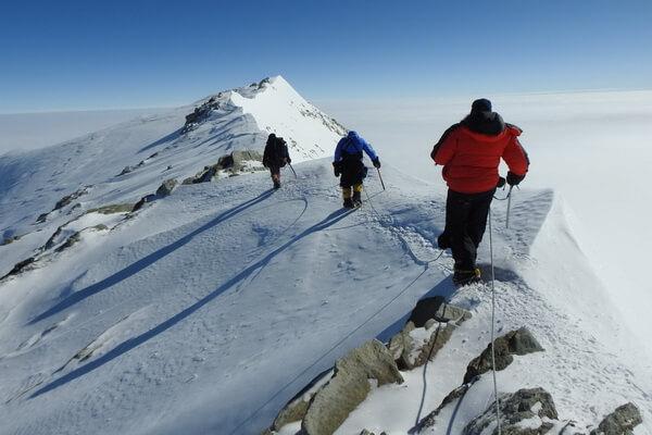Опаснейшие вершины мира - Пик Винсон, Антарктида