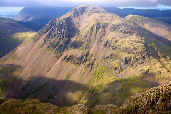 Горы Англии - Грэйт Гейбл или «Великий Гейбл»