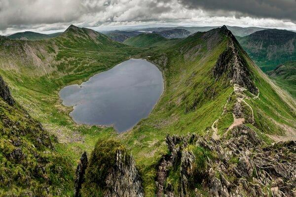 Самые высокие вершины Англии - Гора Хелвеллин