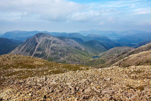 Скофел-Пайк - самая высокая гора Англии