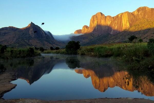 Андригитра – самый маленький горный хребет Мадагаскара