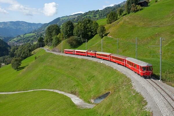 Путешествие на поезде по Европе - самые красивые жд маршруты с фото и описанием - Рейнское ущелье в Германии