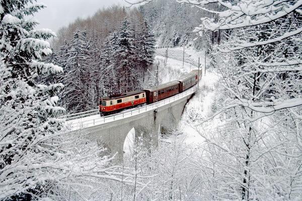 Путешествие на поезде по Европе - самые красивые жд маршруты с фото и описанием - Мариацелльская железная дорога в Австрии