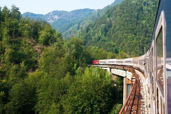 Путешествие на поезде по Европе - самые красивые жд маршруты с фото и описанием - Ж/д маршрут из Белграда в Бар