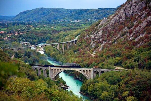 Путешествие на поезде по Европе - самые красивые жд маршруты с фото и описанием - Бохиньская ж/д – лучший ж/д маршрут между Словенией и Италией