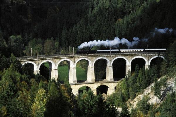 Путешествие на поезде по Европе - самые красивые жд маршруты с фото и описанием - Ж/д Земмеринг