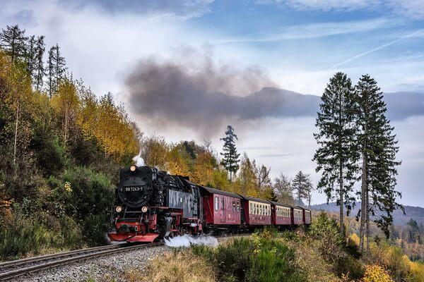 Путешествие на поезде по Европе - самые красивые жд маршруты с фото и описанием - Брокенская ж/д в Германии