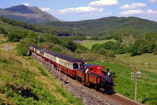 Путешествие на поезде по Европе - самые красивые жд маршруты с фото и описанием - Фестиньогская ж/д в Уэльсе