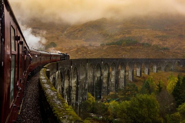 Путешествие на поезде по Европе - самые красивые маршруты с фото и описанием