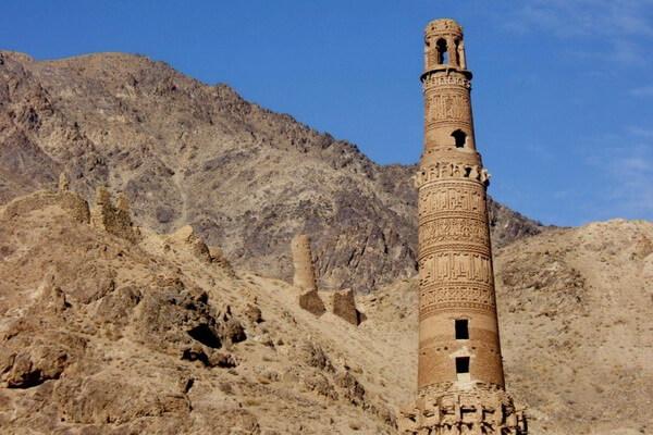 Джамский минарет в Афганистане