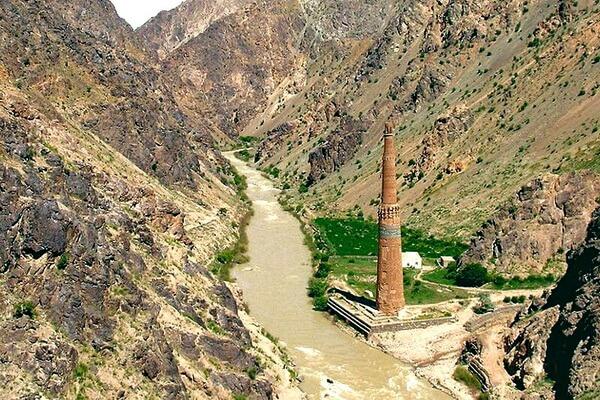 Джамский минарет в Афганистане - красивые фото