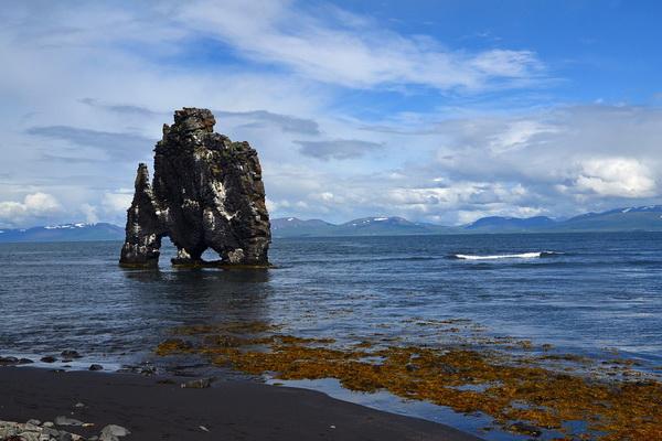 Природные достопримечательности Исландии - Скала Хвитсеркур