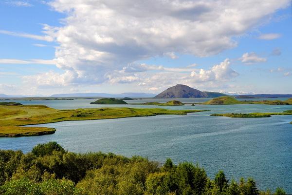 Природные достопримечательности Исландии - Озеро Миватн