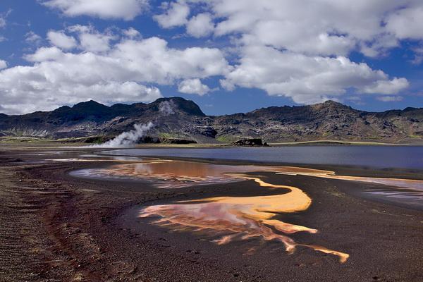 Чудеса природы Исландии - Долина гейзеров