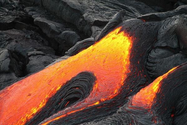 Необычные пейзажи с фото и описанием - Вулкан Килауэа на Гавайях
