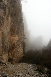 Скалолазание в Крыму - Никитская расселина или Аянские скалы