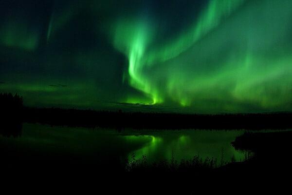 Природа северного сияния