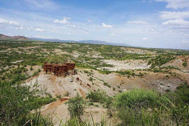 Ущелье Олдувай в Танзании - колыбель человечества