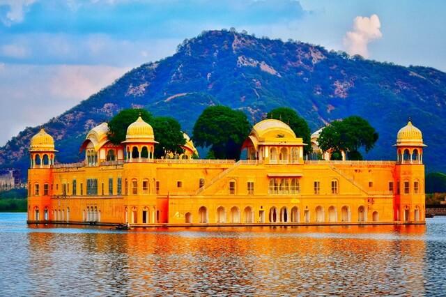 Джал-Махал в Индии - «плавающий» дворец Раджастхана