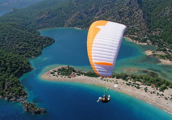 Лучшие места для парапланеризма - Олюдениз, Турция