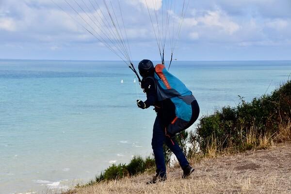 Принцип действия параплана и полёта на нём