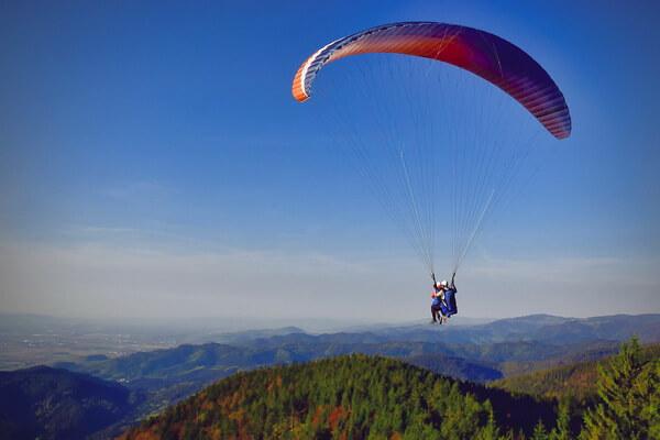 Параплан - рекорды по высоте полёта