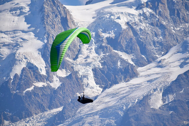 Параплан - дальность, высота и скорость полёта